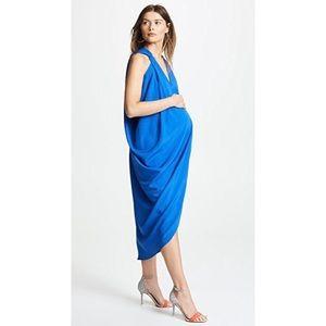 Hatch Amira Caftan in Cobalt Blue Size 0